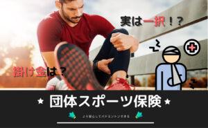 団体スポーツ保険